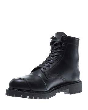 Wolverine Dylan Leather Moto Boot, Black