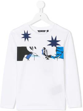 Antony Morato printed long sleeve T-shirt