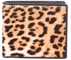 Saint Laurent Portefeuille Compact Wallet - ANIMAL PRINT - STYLE