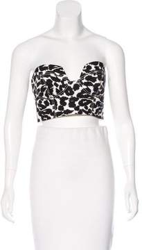 Finders Keepers Strapless Cropped Top w/ Tags