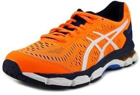 Asics Gel-kayano 23 Youth Round Toe Synthetic Orange Running Shoe.
