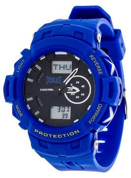 Everlast Analog and Digital Multi Function Watch - Blue