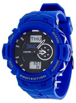 Everlast Analog and Digital Multi Function Watch - Blue