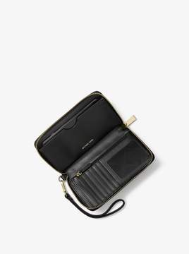MICHAEL Michael Kors Large Glitter Smartphone Wristlet