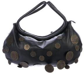 Sonia Rykiel Leather Disc Hobo