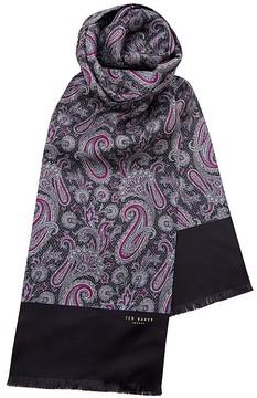 Ted Baker Boscarf Paisley Printed Silk Scarf