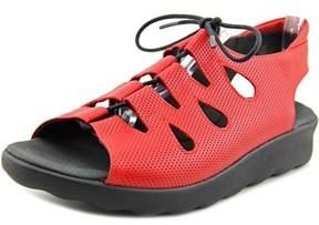 Wolky Natu Women Open-toe Leather Slingback Sandal.