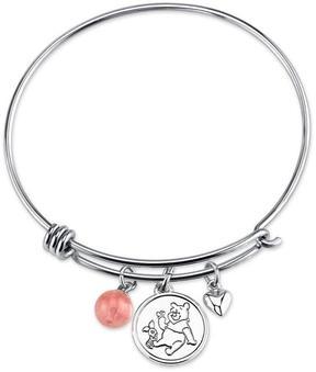 Disney Sterling Silver Winnie The Pooh Expandable Bangle Bracelet