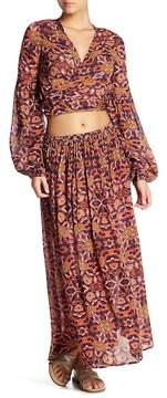 Billabong Sun Safari Patterned Woven Skirt