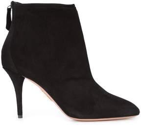 Aquazzura zip up ankle boots