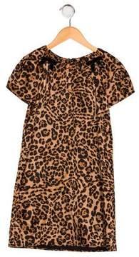 Gucci Girls' Silk-Blend Dress