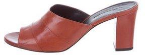 Jil Sander Leather Slide Sandals w/ Tags