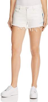 Blank NYC BLANKNYC Astor Embroidered Denim Shorts in Best Coast