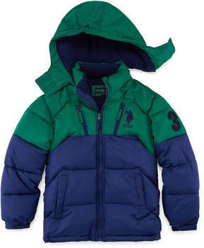 U.S. Polo Assn. Heavyweight Puffer Jacket - Boys Preschool 4-7
