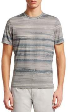 Saks Fifth Avenue COLLECTION Printed Wave Tee