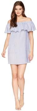 Bishop + Young Stripe Off Shoulder Dress Women's Dress