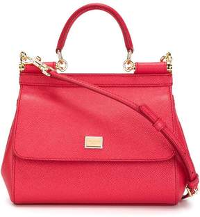 Dolce & Gabbana mini Sicily shoulder bag - PINK & PURPLE - STYLE