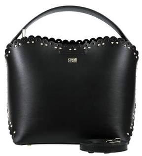 Class Roberto Cavalli Black Bucket Bag Leolace 007.