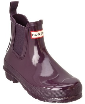 Hunter Women's Chelsea Gloss Boot.