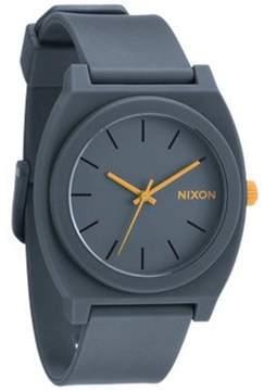 Nixon Men's Time Teller A1191244 Grey Polyurethane Analog Quartz Fashion Watch