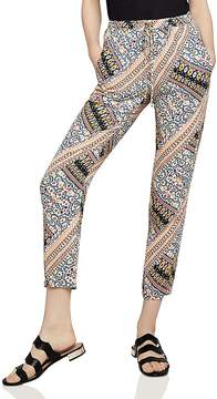 BCBGeneration Patchwork Drawstring Pants