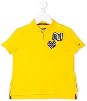 Tommy Hilfiger Junior racing badge polo shirt