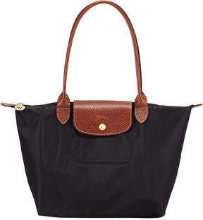 Longchamp Le Pliage Small Shoulder Tote Bag - BLACK PATTERN - STYLE