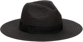 San Diego Hat Company Women's Paper Braid Fedora with Bow