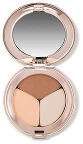 Jane Iredale PurePressed Eye Shadow Triple - Sweet Spot - soft peach matte mocha and nude beige