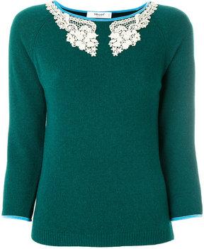 Blugirl lace panel jumper