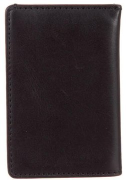 Jack Spade Leather Clip Wallet