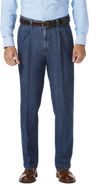 Haggar Stretch Denim Trouser