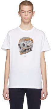 Paul Smith White Skull T-Shirt