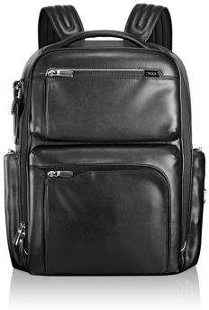 Tumi Arrive Bradley Leather Backpack