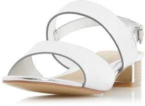 Head Over Heels *Head Over Heels by Dune Silver 'Navilla' Sandals