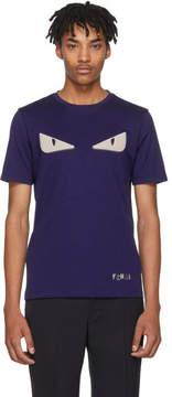 Fendi Blue Bag Bugs T-Shirt
