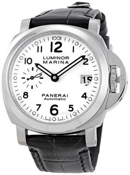 Panerai Luminor Marina Automatic White Dial Men's Watch