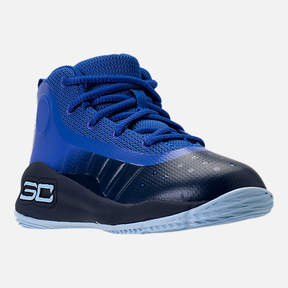 Under Armour Boys' Toddler Curry 4 Mid Basketball Shoes