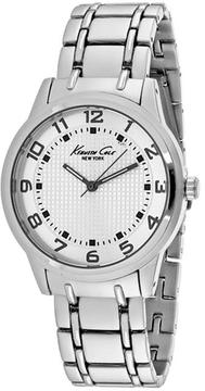 Kenneth Cole Classic 10014652 Men's Round Silver Stainless Steel Watch