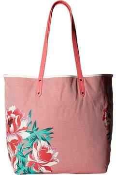 Vera Bradley Beach Tote Tote Handbags - OXFORD FLORAL - STYLE