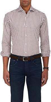 Barba Men's Checked Cotton Shirt