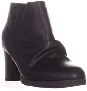 Easy Street Shoes Breena Comfort Ankle Boots, Black.