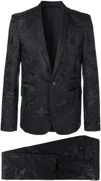 Les Hommes two piece formal suit
