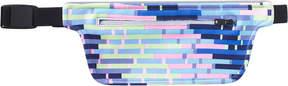 Scunci White with Black Stripes Visor
