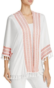 POL Embroidered Kimono Jacket - 100% Exclusive
