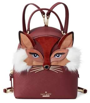Kate Spade So Foxy - Binx Leather Backpack