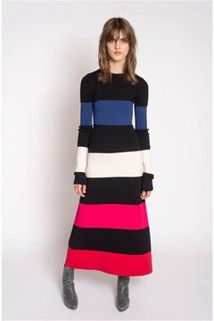 Sonia Rykiel Long Multicoloured Milano Knit Dress