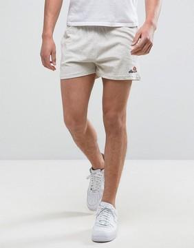 Ellesse Retro Shorts In Oatmeal