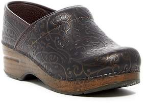 Dansko Professional Embossed Leather Clog