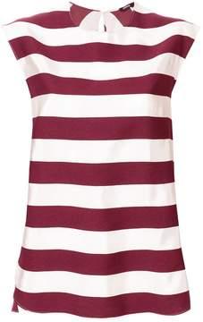 Aspesi striped flared blouse